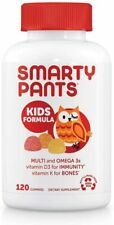 Smarty Pants Kids Multivitamin and Omega 3s, Vitamin C, D3, and Zinc  (120 Ct)