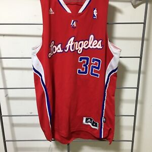 Adidas Blake Griffen #32 Red  Los Angeles Clippers Jersey stitched