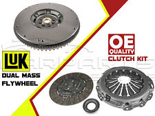 FOR NISSAN NAVARA 2.5 DCI 4WD 05- COMPLETE CLUTCH KIT LUK DUAL MASS FLYWHEEL DMF