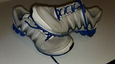 Reebok ZigTech Mens Size US 9 blue grey white running athletic shoes