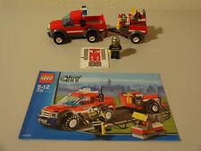 (G9) LEGO CITY 7942 FEUERAUTO MT BA 100% KOMPLETT GEBRAUCHT TOP ZUSTAND