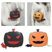 Cartoon Cute Pumpkin Shoulder Bag Leather Women Small Chain Crossbody Bags Tote