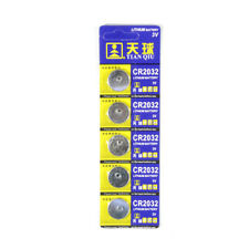Wholesale 5pcs Cr2032 Dl2032 Lm2032 Button Cell Battery Cells for Watch Toys
