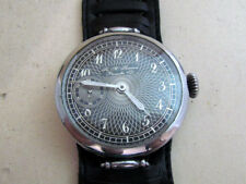 Henry Moser Nessel Swiss vintage men's mechanical wristwatch