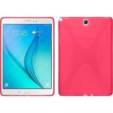 Funda de silicona Samsung Galaxy Tab A 9.7 X-Style rosa caldo