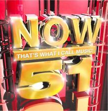 NOW THAT'S WHAT I CALL MUSIC 51 various (2X CD compilation, 2002)