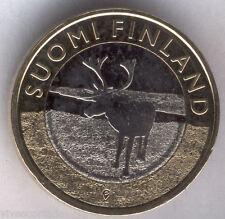 5 Euros Finlandia 2015 Reno @@ NOVEDAD @@ Bimetalica @@ Nº 30 @@