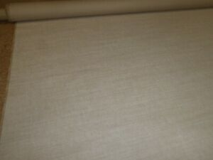 ROMO FABRICS - LINARA in a SANDY BEIGE - Linen Blend Upholstery Fabric