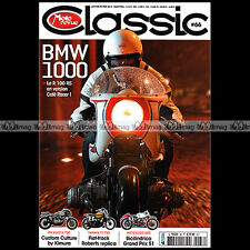MOTO REVUE CLASSIC N°66 YAMAHA TZ 750 SUZUKI GSX 550 ES BMW R1100 RS R80 GS