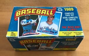 1989 OPC Baseball Factory Set