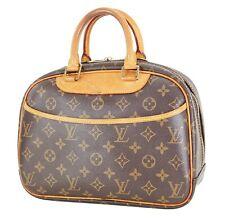 Authentic LOUIS VUITTON Trouville Monogram Handbag Purse #30007