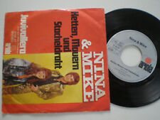 "NINA & MIKE Ketten, Mauern Unités Stacheldraht ALLEMAGNE 7"" VINYL 1972"