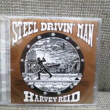 Harvey Reid - Steel Drivin' Man [CD -1991 Woodpecker) DIRECT-TO-DISC RECORDING