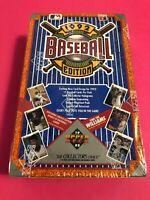 1992 Upper Deck Baseball Cards 36 Pack Sealed Wax Box - RARE TED WILLIAMS BOX!