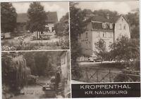 DDR Foto AK Kroppenthal - Kreis Naumburg 1971 ! Ortsansichten mit Gasthaus !