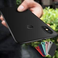 For Xiaomi Redmi Note 5 Pro 4X 6 S2 Luxury Slim Matte Silicone Rubber Case Cover