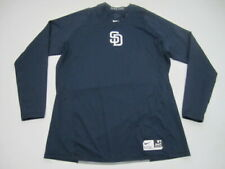 Mens XL San Diego Padres Nike Pro Dri Fit Fitted Authentic long sleeve shirt