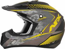 AFX FX17 FACTOR Motocross/Offroad/ATV Helmet (Frost Grey/Hi-Vis Yellow) Medium