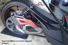 Rear End Splitters for Polaris Slingshot (4 Pieces)