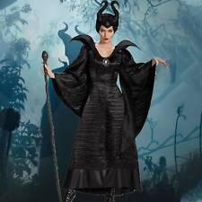 Maleficent Evil Queen Halloween Kostüm Outfit Cosplay Party Kostüm für Damen