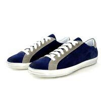 @ go Italy Herren Schuhe Fashion Low Top Sneaker Sportschuhe Leder Np 139 Neu