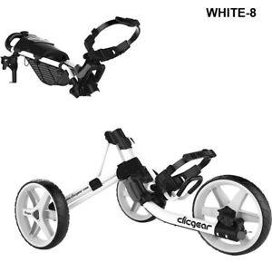 Clicgear Model 4.0 Golf Push Cart White New