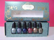 NIB SEPHORA Disney Cinderella Collection A Brush with Fate Nail Polish Set of 6