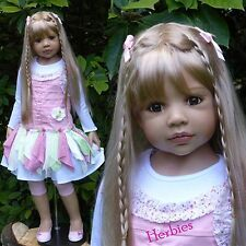 "Masterpiece Dolls Candy Blonde, Blue Eyes by Monika Levenig, 44"" Vinyl"