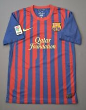 4.7/5 BARCELONA 2011-2012 ORIGINAL FOOTBALL SOCCER HOME JERSEY SHIRT NIKE SIZE S