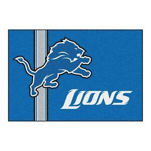 "Fanmats NFL Detroit Lions Starter Mat Area Rug Bath Mat 19""x 30"" Del. 2-4 Days"