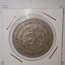 Mexico: Un Peso 1961 VF+