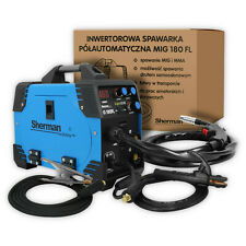 Sherman MIG 180A Portable Inverter Welder MMA Gas Gasless ARC Welding Machine