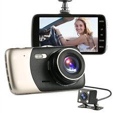 Car DVR Dual Lens Video Recorder Camera HD 1080P WDR Cam Dash Night Vision 9