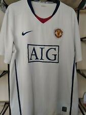 Manchester United 08/09 away shirt large