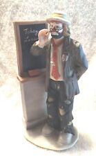 Vintage Emmett Kelly Jr Flambro Clowns Teachers Today'S Lesson Large (1)