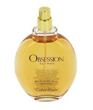 Obsession By Calvin Klein Men 4.0 4 oz 125 ml *Eau De Toilette* Spray New