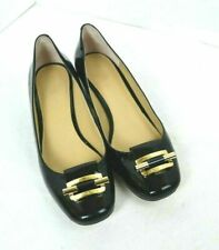 MICHAEL BY MICHAEL KORS BLACK GENUINE LEATHER SHOES SIZE 8 M