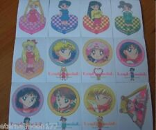 Sailor Moon Super S Irezumi Seal Complete Tattoo Cards of 50