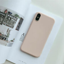Thin Silicone Leather Shockproof Skin Phone Case Cover for iPhone XR XS MAX 6S 8