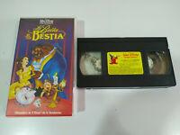 LA BELLA Y LA BESTIA VHS LOS CLASICOS DE WALT DISNEY - VHS Cinta Español
