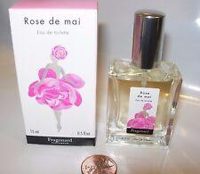FRAGONARD ROSE DE MAI Perfume 15 ML SPRAY EDT ROSE GARDENIA YLANG FRAGRANCE