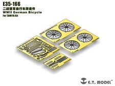 ET Model 1/35 #E35166 WWII German Bicycle Detail Up Set for Tamiya
