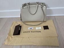 Authentic Louis Vuitton Epi Leather Brea Ivoire White MM Shoulder Bag Handbag