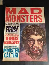 MAD MONSTERS #3 CHARLTON 1962 7.0 FN-VF
