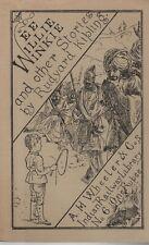 "RUDYARD KIPLING - ""WEE WILLIE WINKIE"" -FACSIMILE OF FIRST INDIAN RAILWAY EDITION"