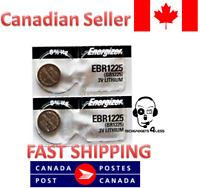 Energizer Original OEM EBR1225 CR1225 Lithium Coin Watch Battery - 2 Batteries