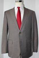 Ermenegildo Zegna Gray Two Button Side Vented Wool Suit 42 Regular 34 33 Flat