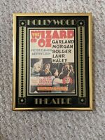 Vintage Hollywood Theater The Wizard Of Oz Movie Poster Framed #249