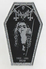 Mayhem - Dead Tribute PATCH Ulver Darkthrone Satyricon Emperor Marduk Immortal