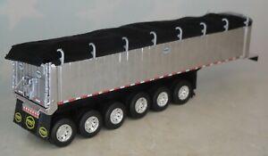 DCP SIX AXLE MAC BLACK TARP COAL END DUMP 1/64 60-0758 T